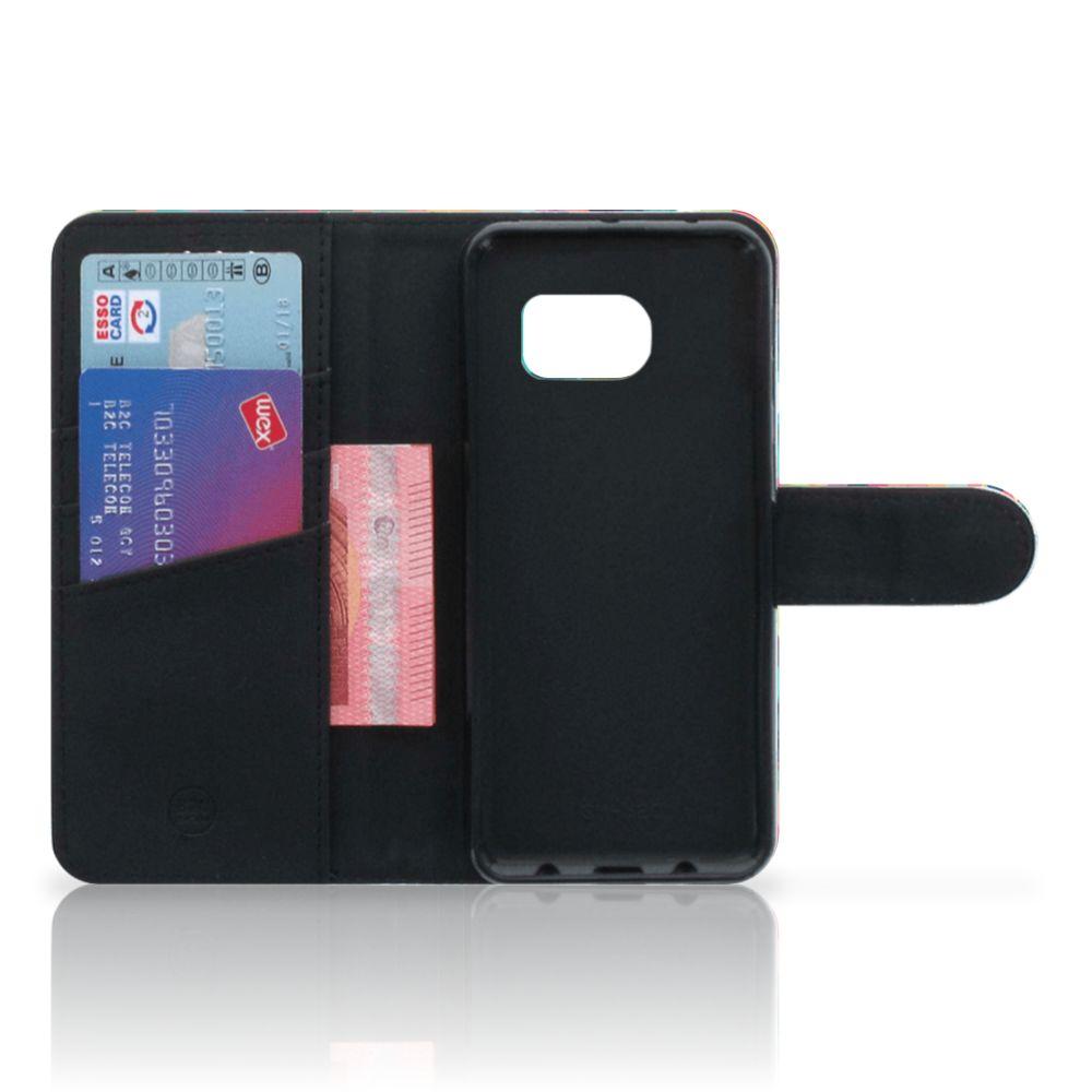 Samsung Galaxy S6 Edge Telefoon Hoesje Geruit