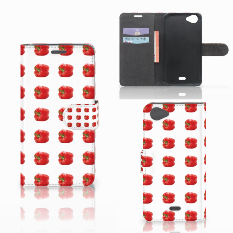Wiko Rainbow Jam Book Cover Paprika Red