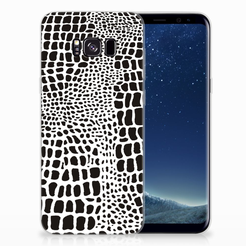 Samsung Galaxy S8 Plus TPU Hoesje Slangenprint