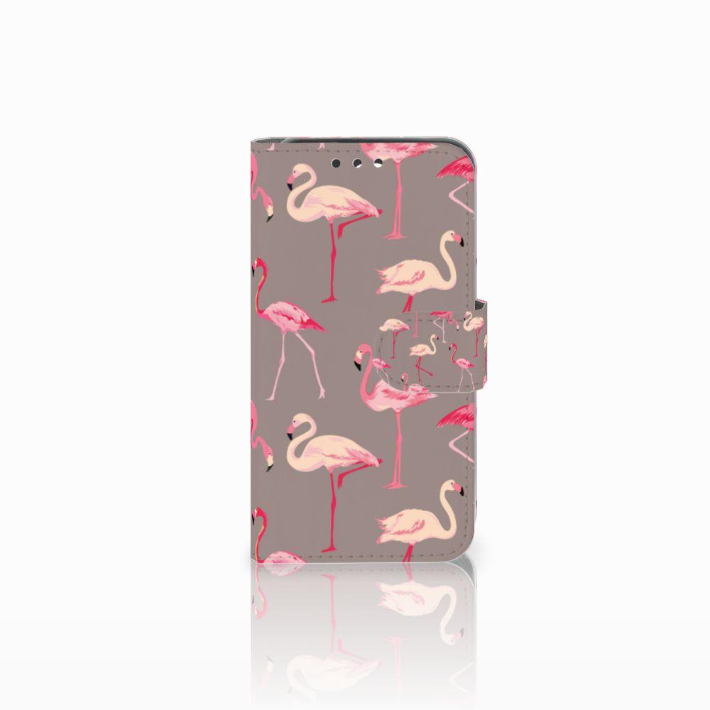 Huawei Y5 Y560 Uniek Boekhoesje Flamingo