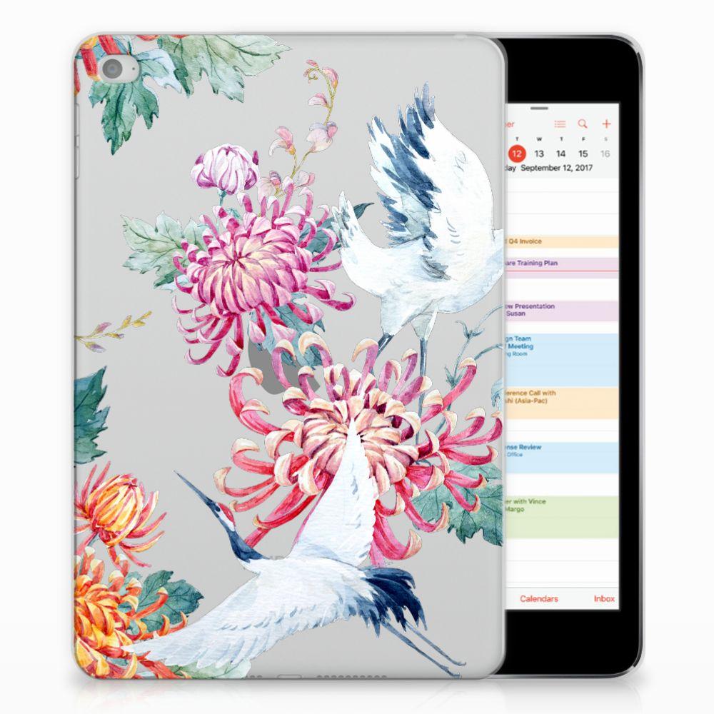 Apple iPad Mini 4 | Mini 5 (2019) Back Case Bird Flowers