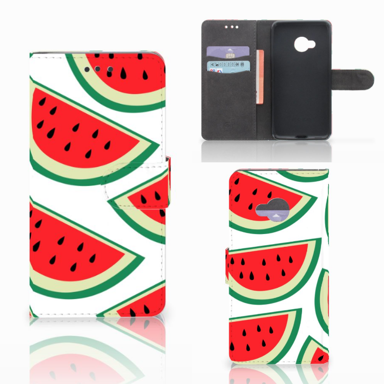 HTC U Play Book Cover Watermelons