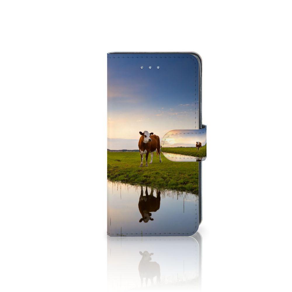 Samsung Galaxy J3 2016 Boekhoesje Design Koe