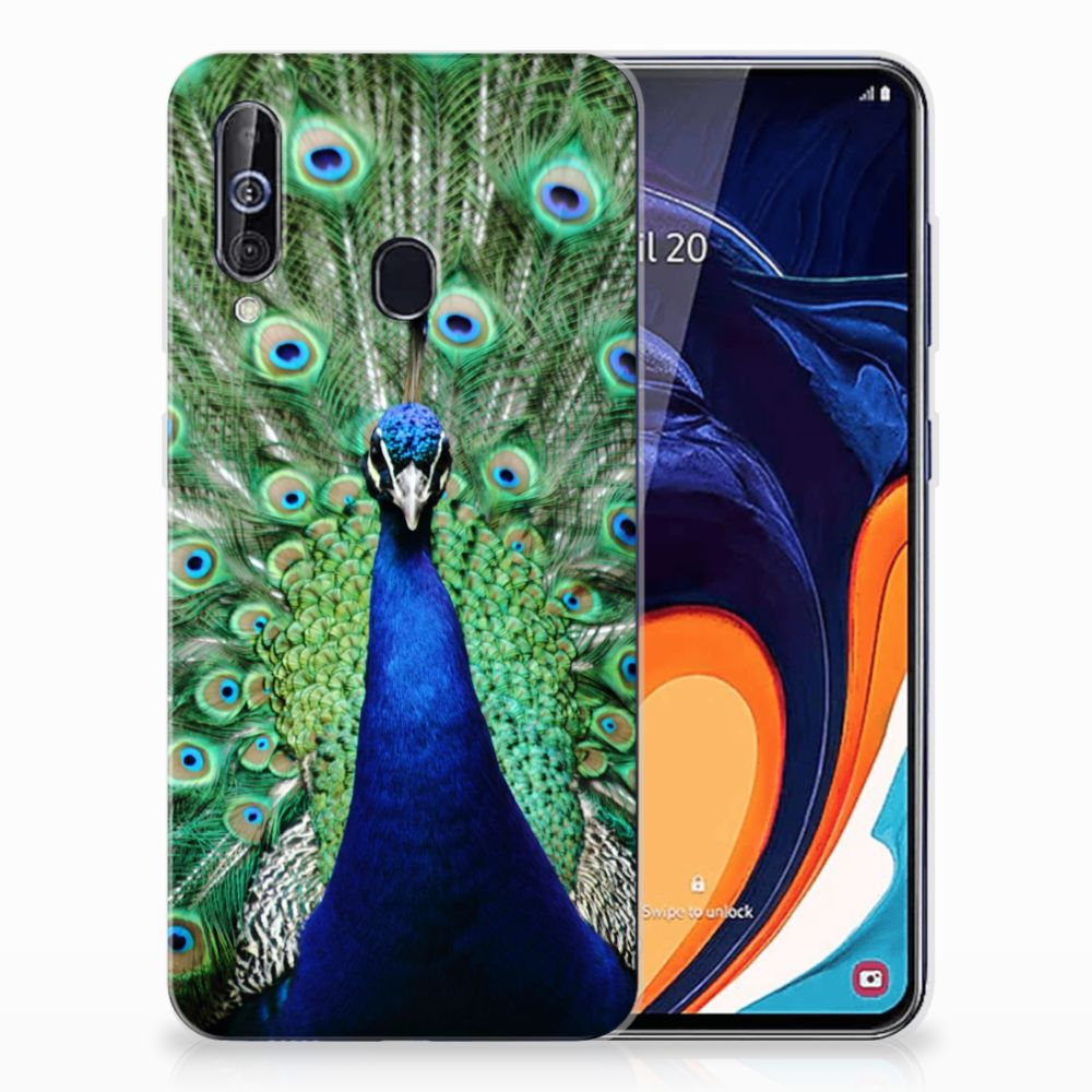 Samsung Galaxy A60 TPU Hoesje Pauw