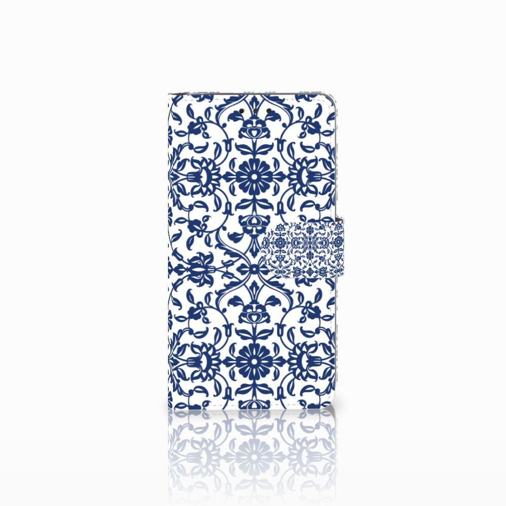LG G4 Boekhoesje Flower Blue