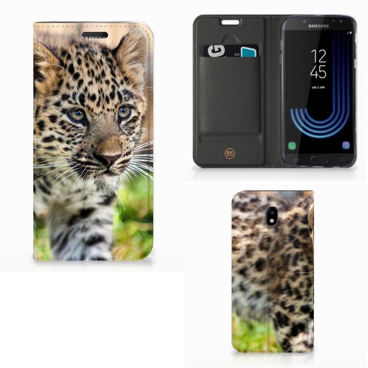 Samsung Galaxy J5 2017 Hoesje maken Baby Luipaard