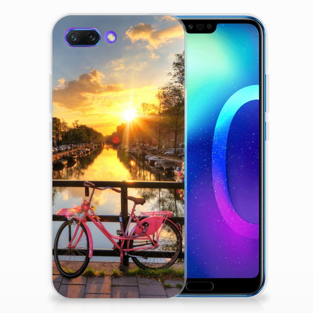 Huawei Honor 10 Uniek TPU Hoesje Amsterdamse Grachten