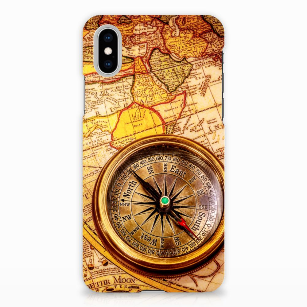 Apple iPhone X | Xs Hardcase Hoesje Design Kompas