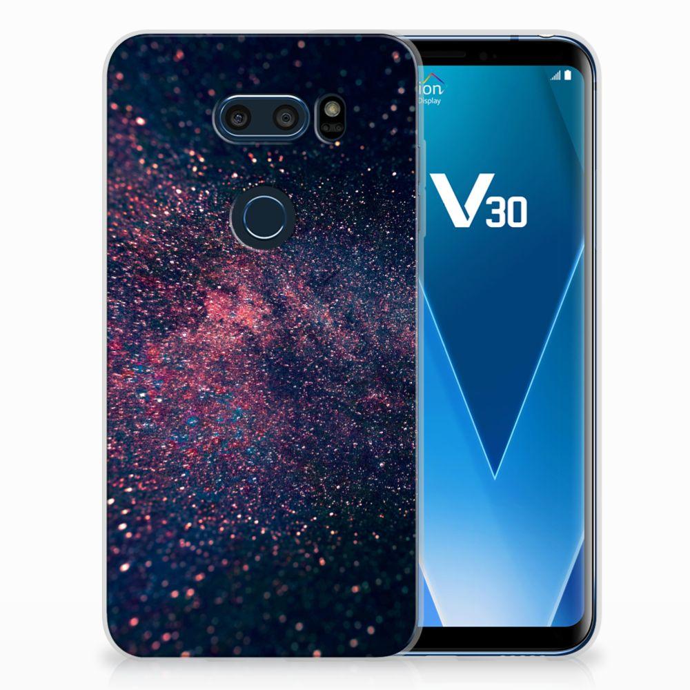 LG V30 TPU Hoesje Stars