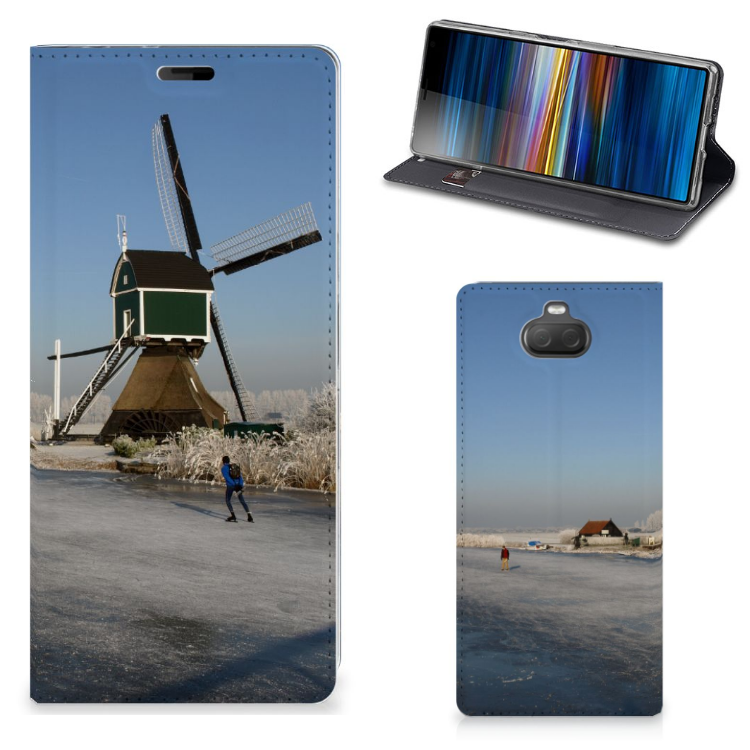 Sony Xperia 10 Plus Book Cover Schaatsers