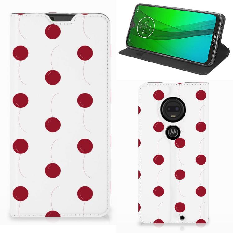 Motorola Moto G7 | G7 Plus Flip Style Cover Cherries