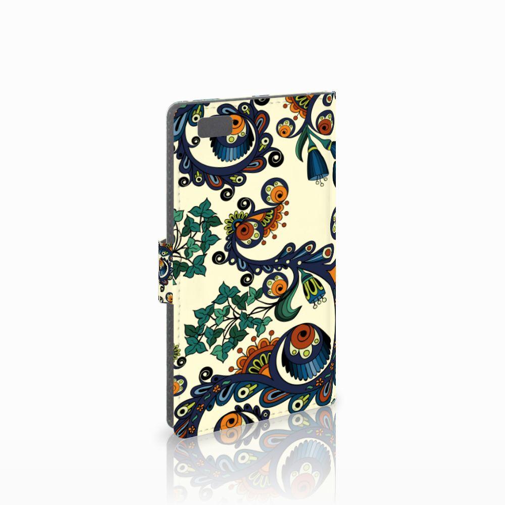 Huawei Ascend P8 Lite Boekhoesje Design Barok Flower