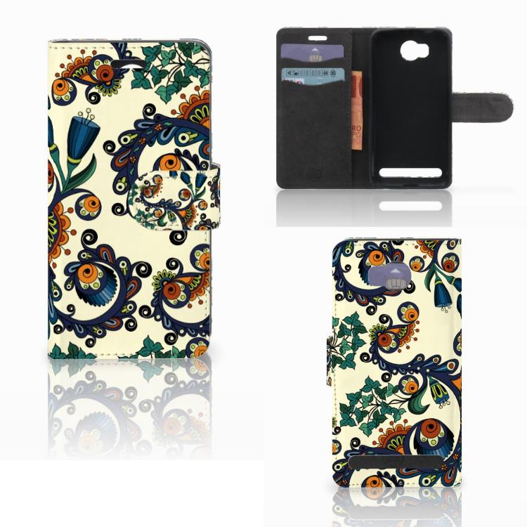 Wallet Case Huawei Y3 2   Y3 II Barok Flower