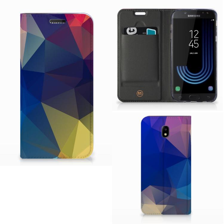 Samsung Galaxy J5 2017 Stand Case Polygon Dark