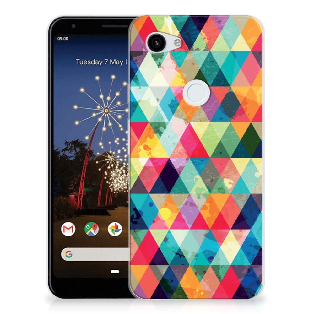 Google Pixel 3A XL TPU bumper Geruit