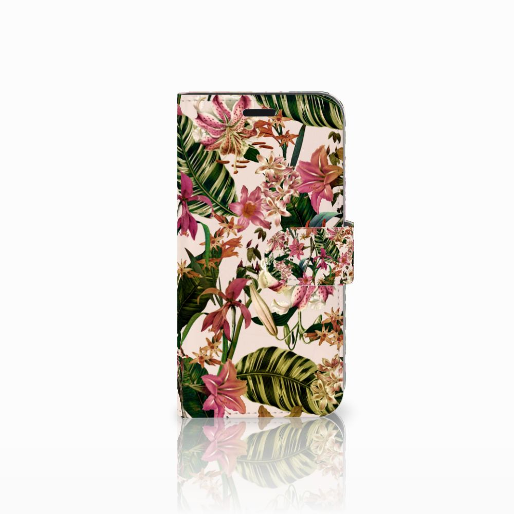 Huawei Nova Uniek Boekhoesje Flowers