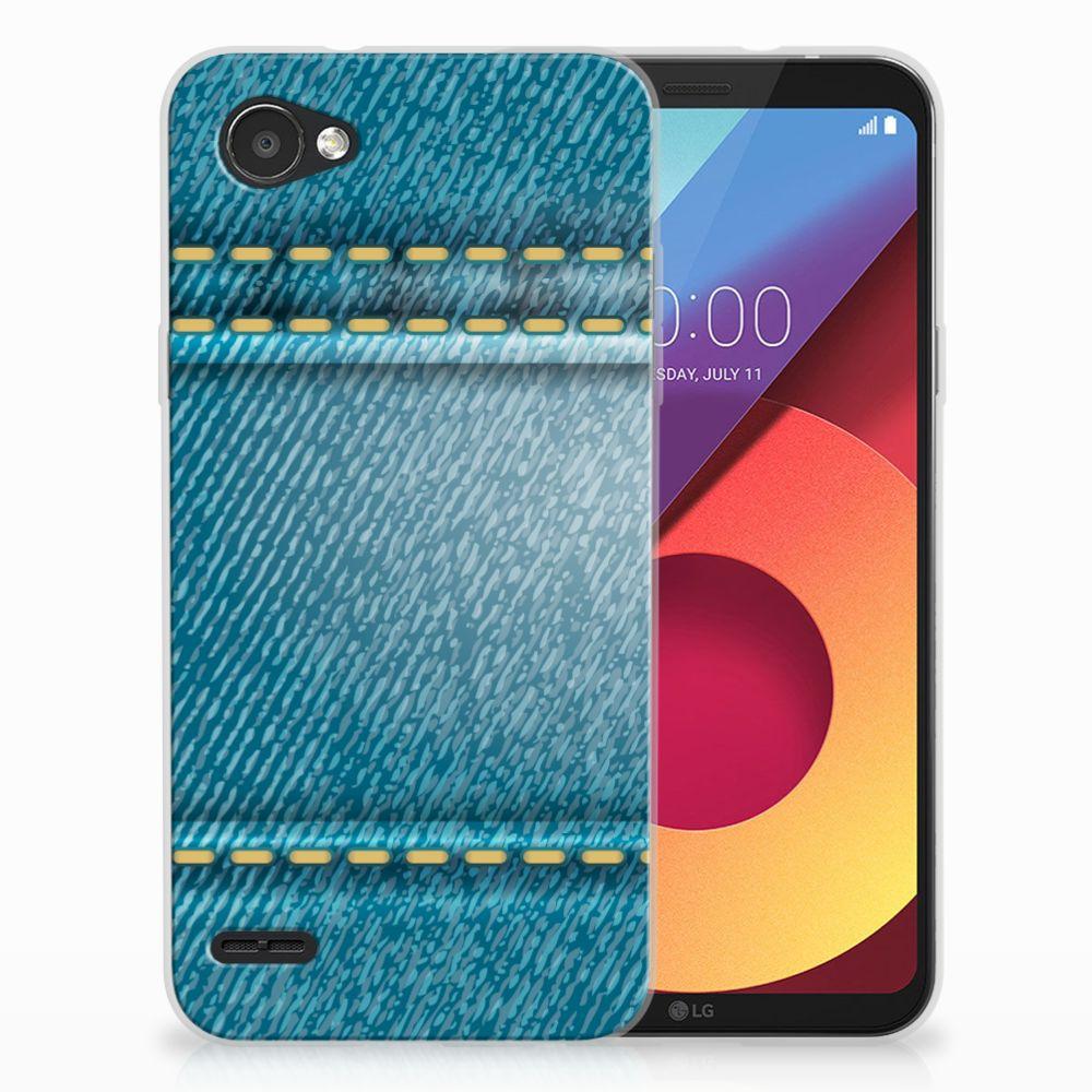 LG Q6   LG Q6 Plus TPU Hoesje Design Jeans