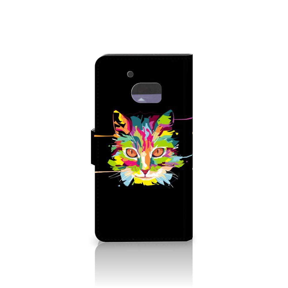 HTC 10 Leuke Hoesje Cat Color