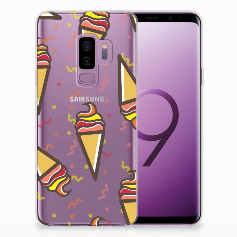 Samsung Galaxy S9 Plus TPU Hoesje Design Icecream