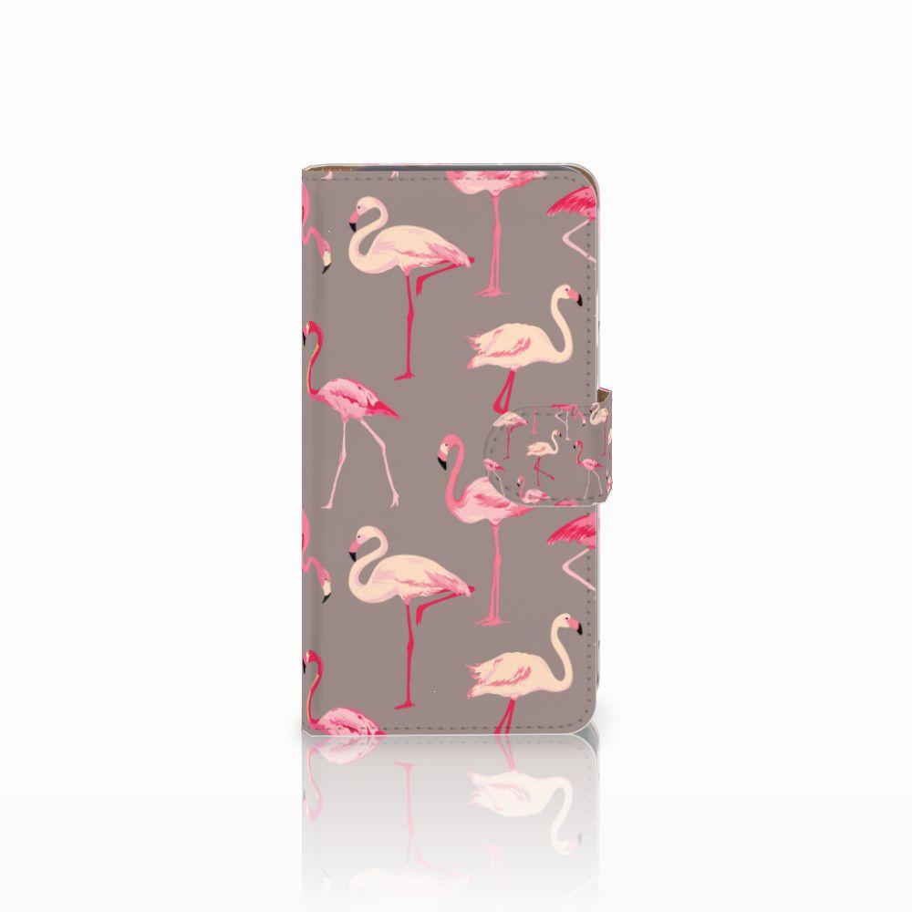 Google Pixel Uniek Boekhoesje Flamingo