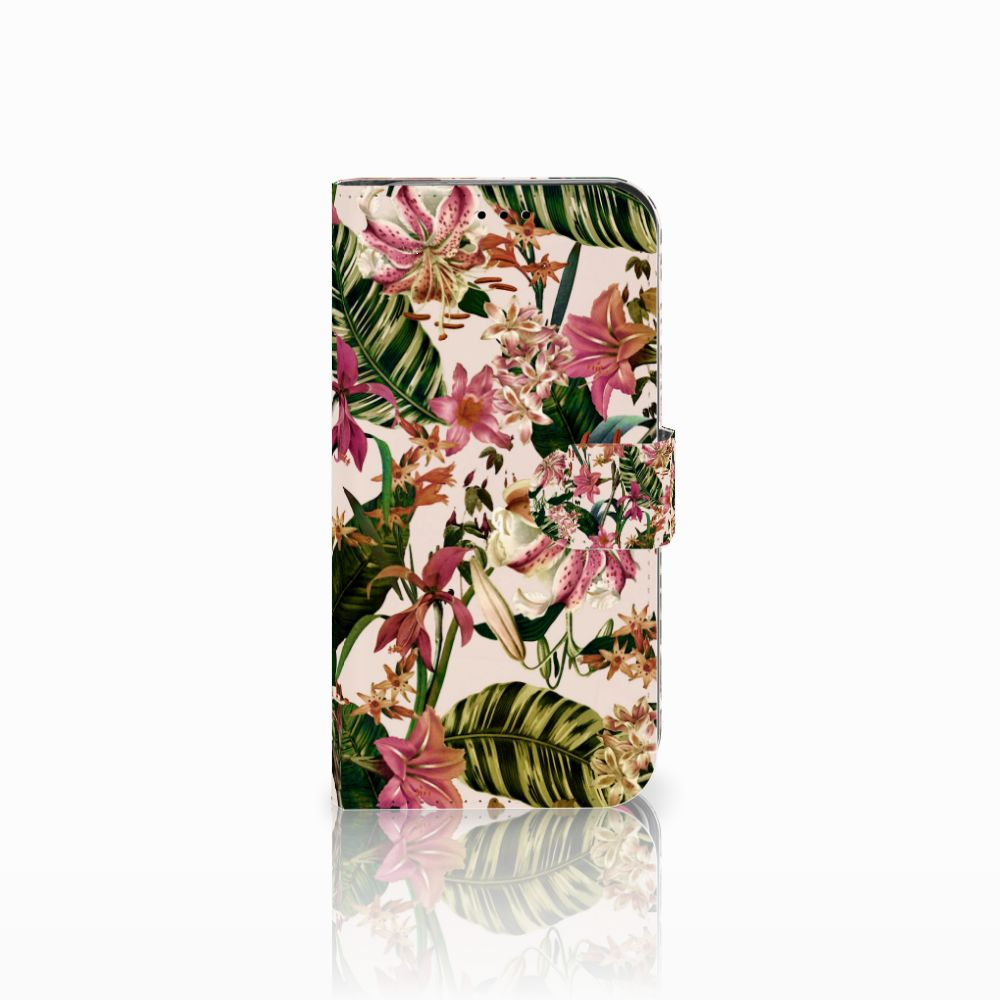 Apple iPhone Xr Uniek Boekhoesje Flowers