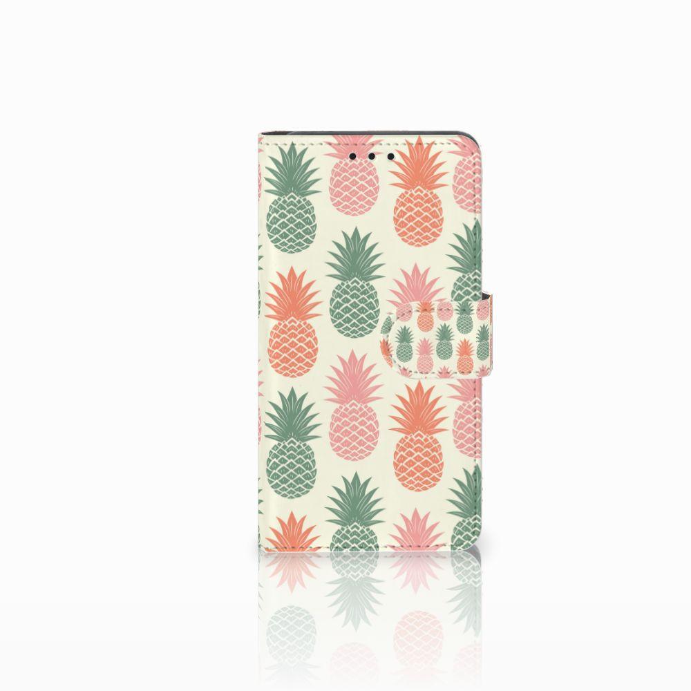 Huawei Y6 Pro 2017 Boekhoesje Design Ananas