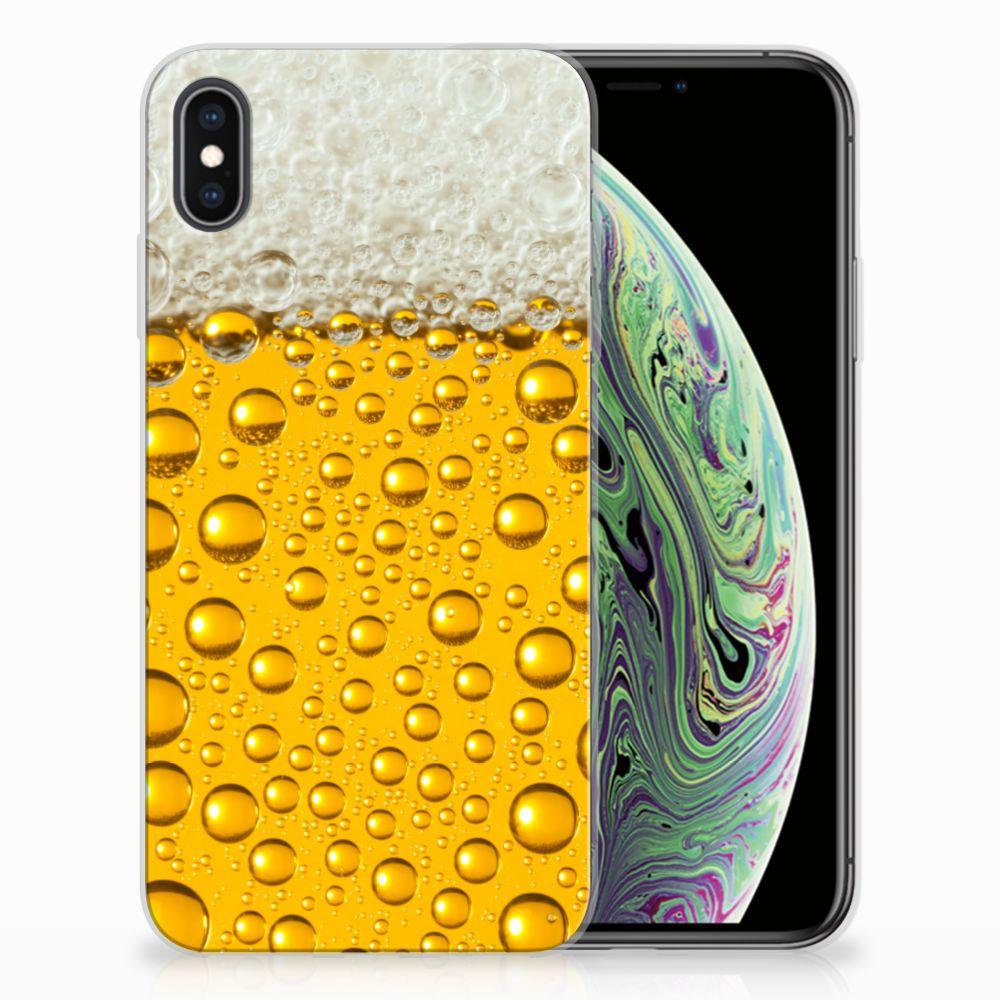 Apple iPhone Xs Max Siliconen Case Bier
