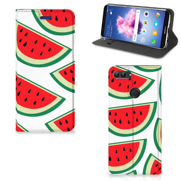 Huawei P Smart Flip Style Cover Watermelons