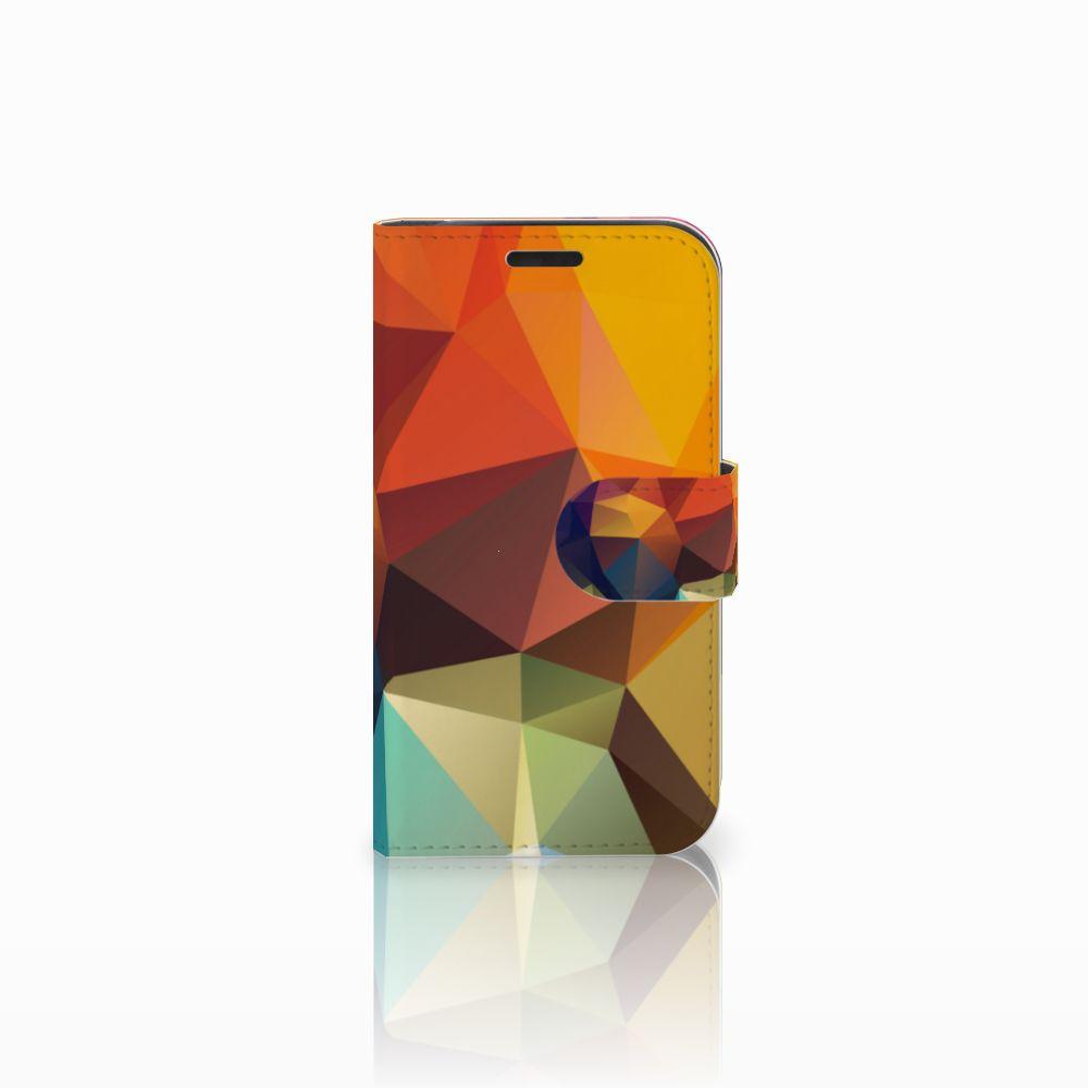 LG K4 Bookcase Polygon Color