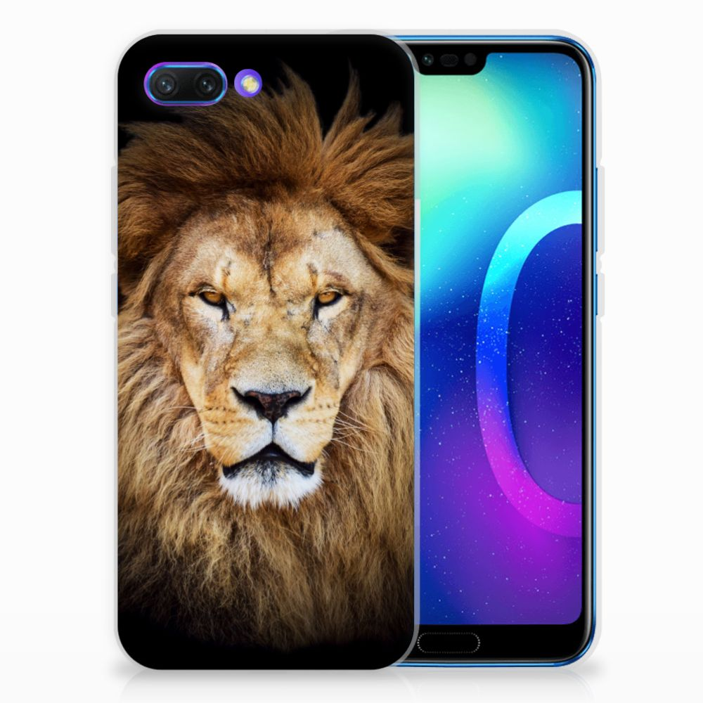 Huawei Honor 10 TPU Hoesje Design Leeuw