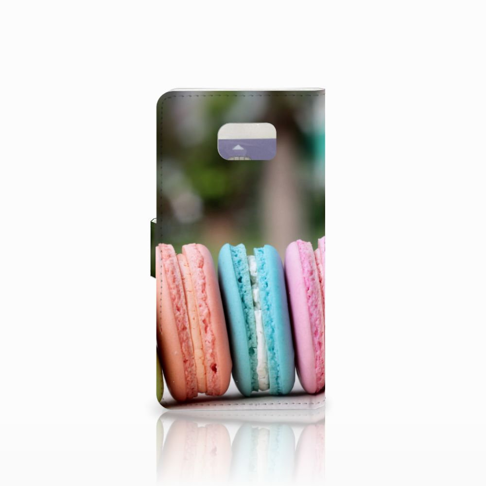 Samsung Galaxy Note 5 Book Cover Macarons