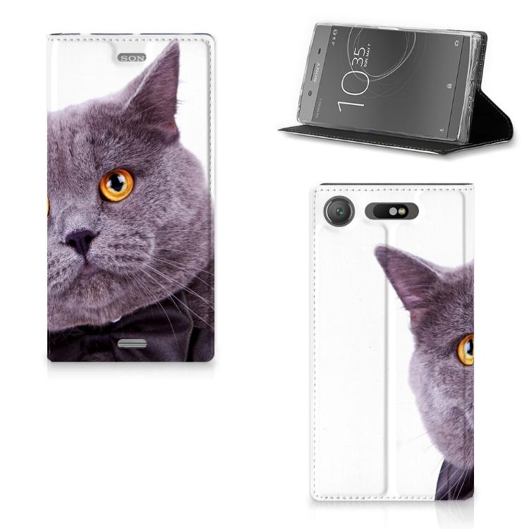 Sony Xperia XZ1 Hoesje maken Kat
