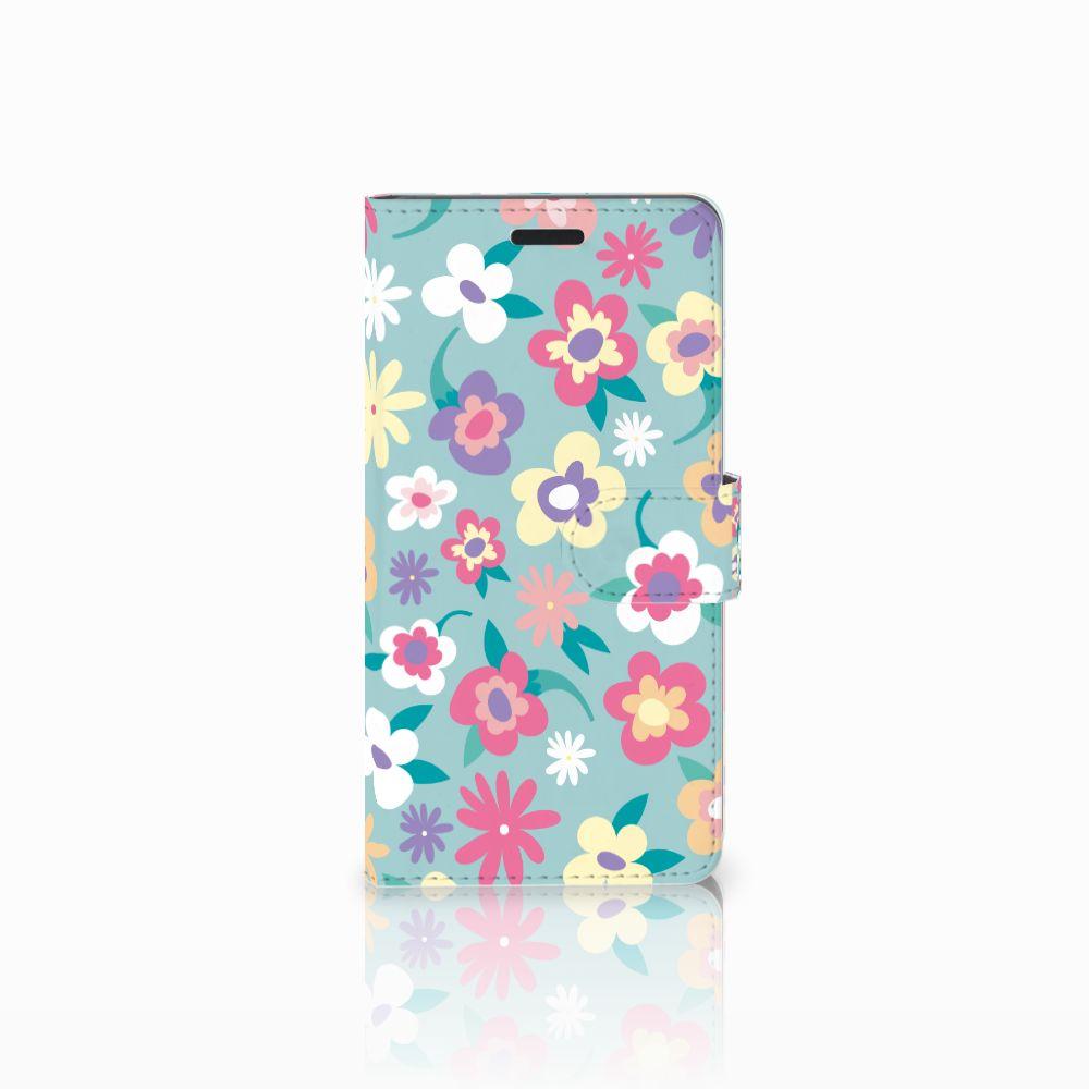 Samsung Galaxy A7 2015 Boekhoesje Design Flower Power