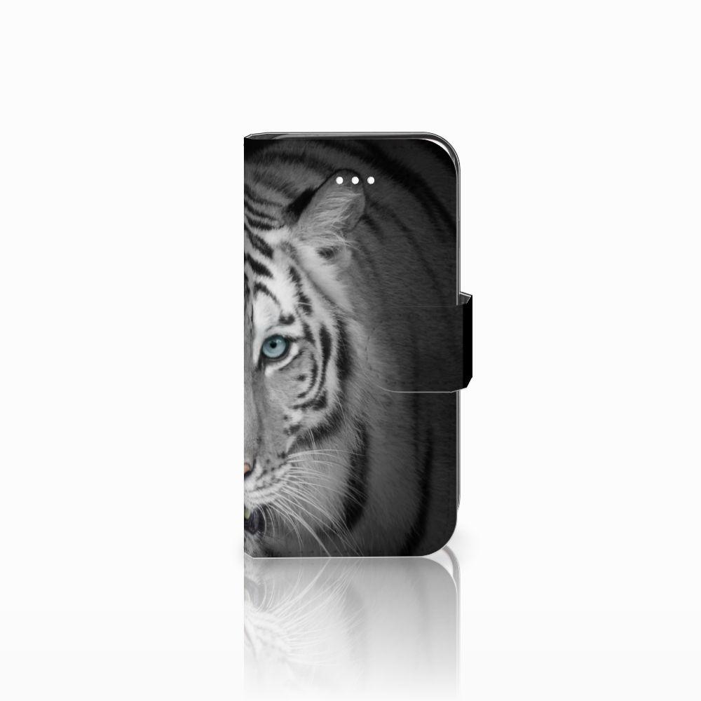 Apple iPhone 5 | 5s | SE Uniek Boekhoesje Tijger