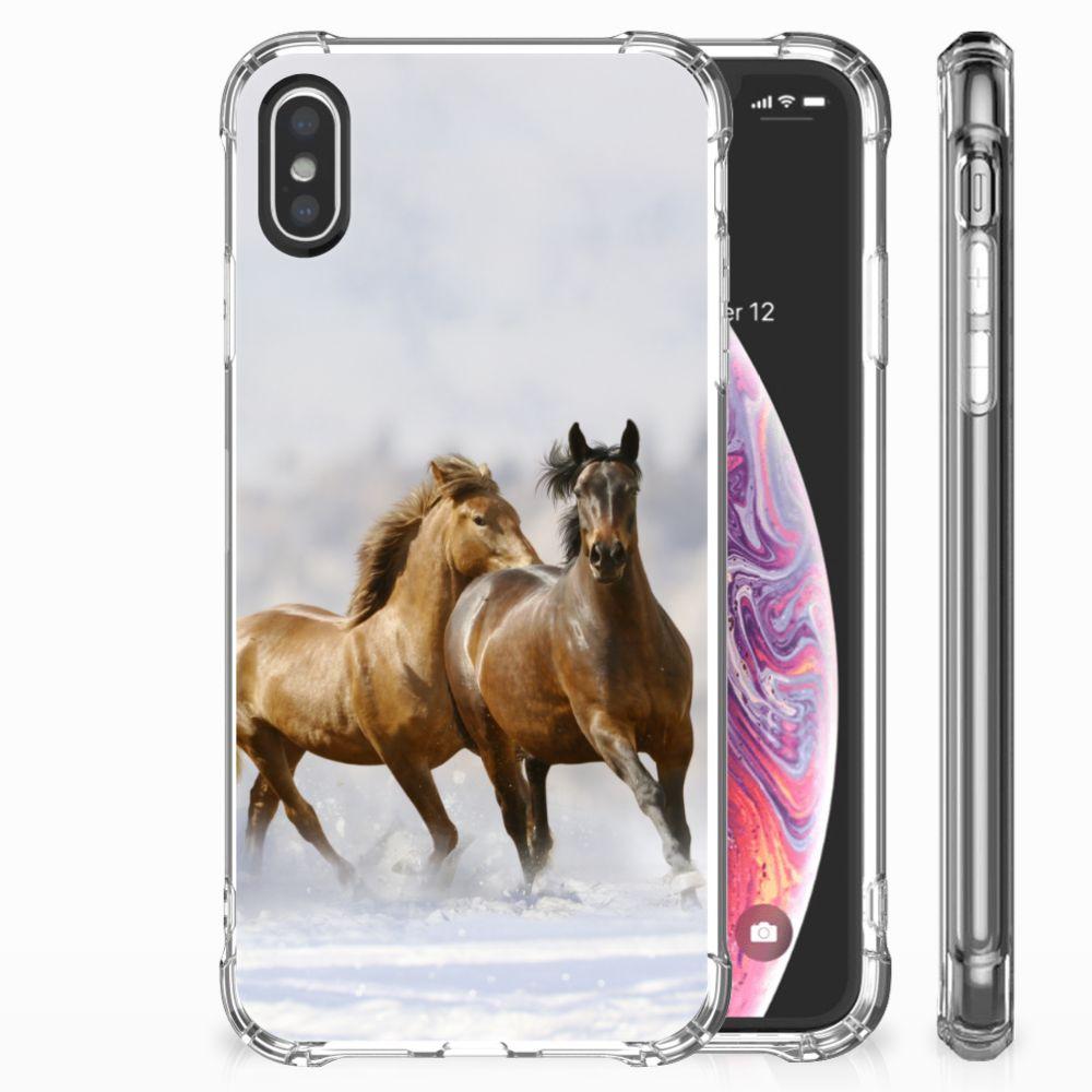 Apple iPhone X | Xs Case Anti-shock Paarden