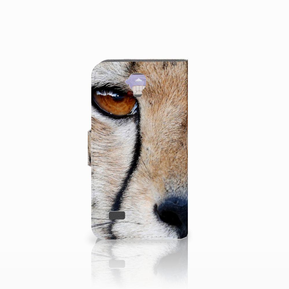 Huawei Y5 Y560 Telefoonhoesje met Pasjes Cheetah