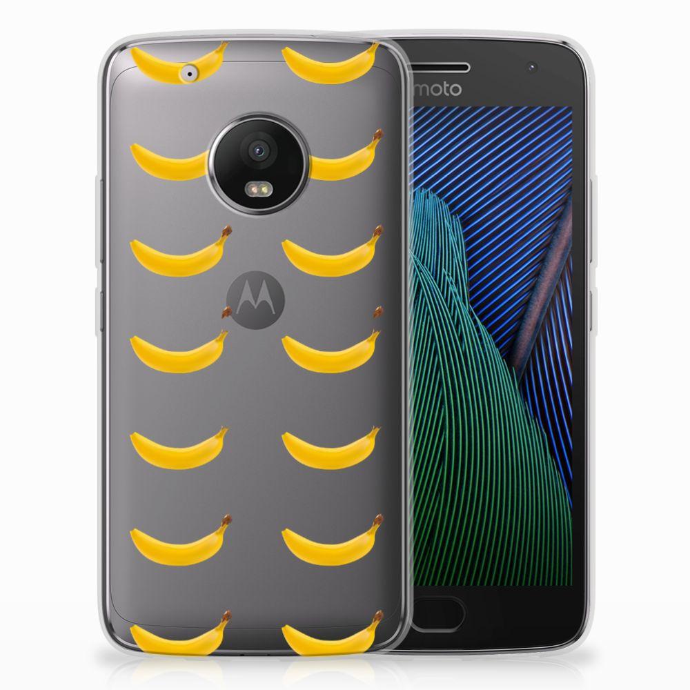 Motorola Moto G5 Plus Siliconen Case Banana