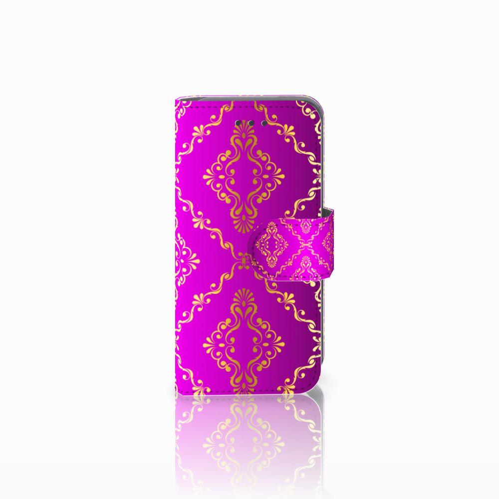 Apple iPod Touch 5 | 6 Uniek Boekhoesje Barok Roze