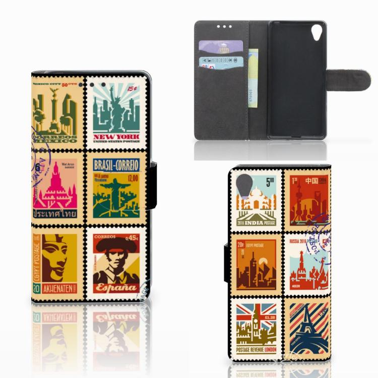 Sony Xperia X Flip Cover Postzegels