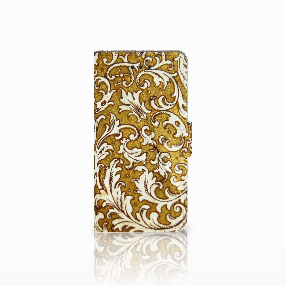 Wallet Case Huawei P9 Lite Barok Goud