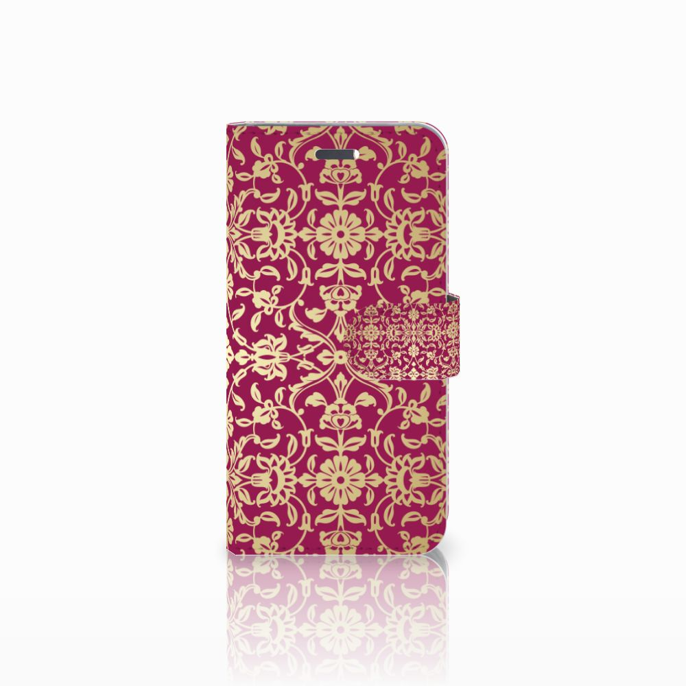 Lenovo Vibe K5 Boekhoesje Design Barok Pink