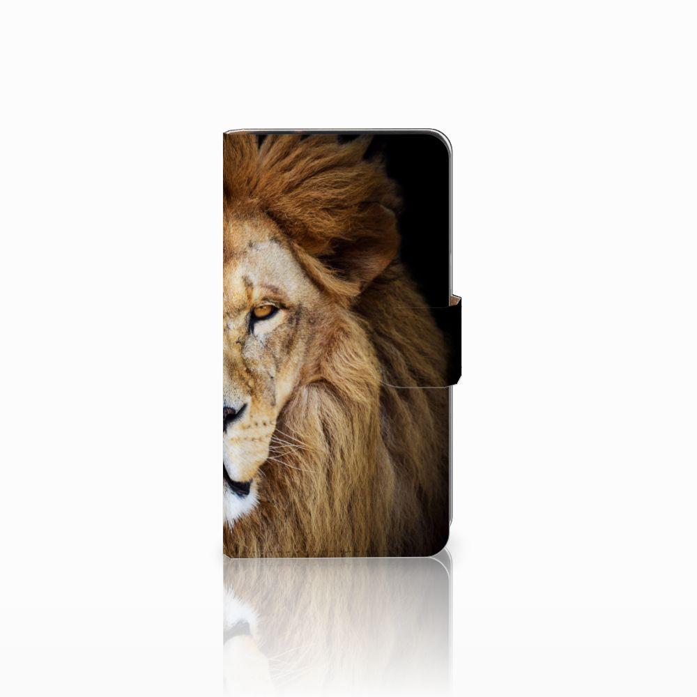 Samsung Galaxy J2 (2015) Boekhoesje Design Leeuw