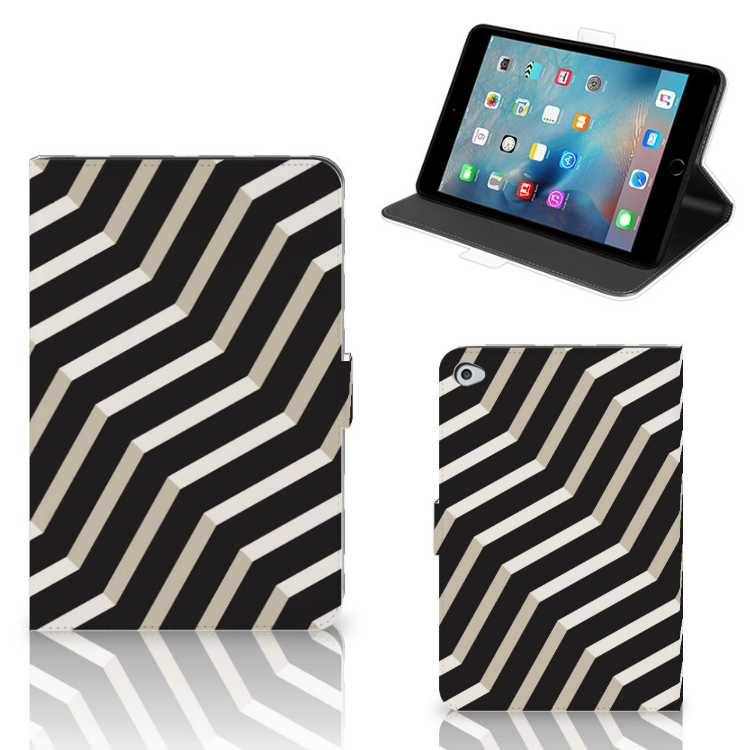 Apple iPad Mini 5 Tablet Beschermhoes Illusion