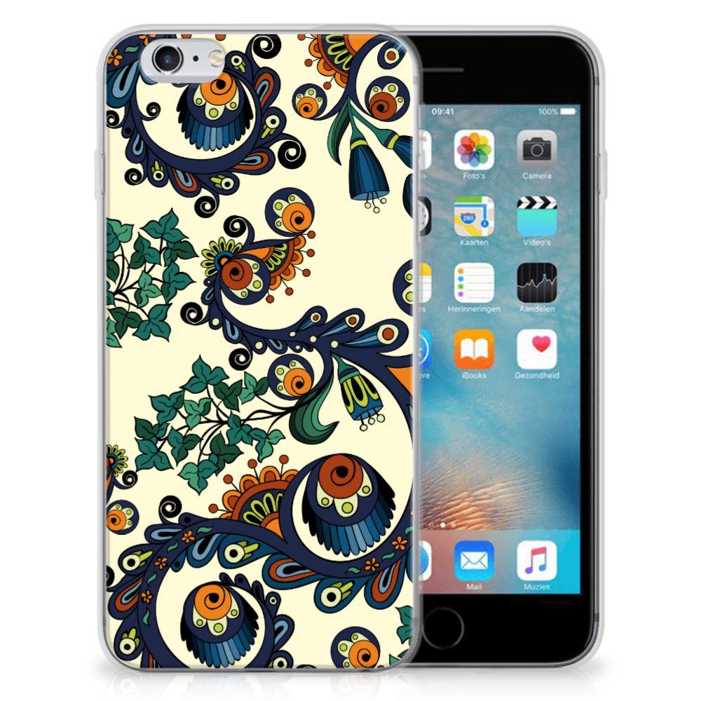 Siliconen Hoesje Apple iPhone 6 | 6s Barok Flower