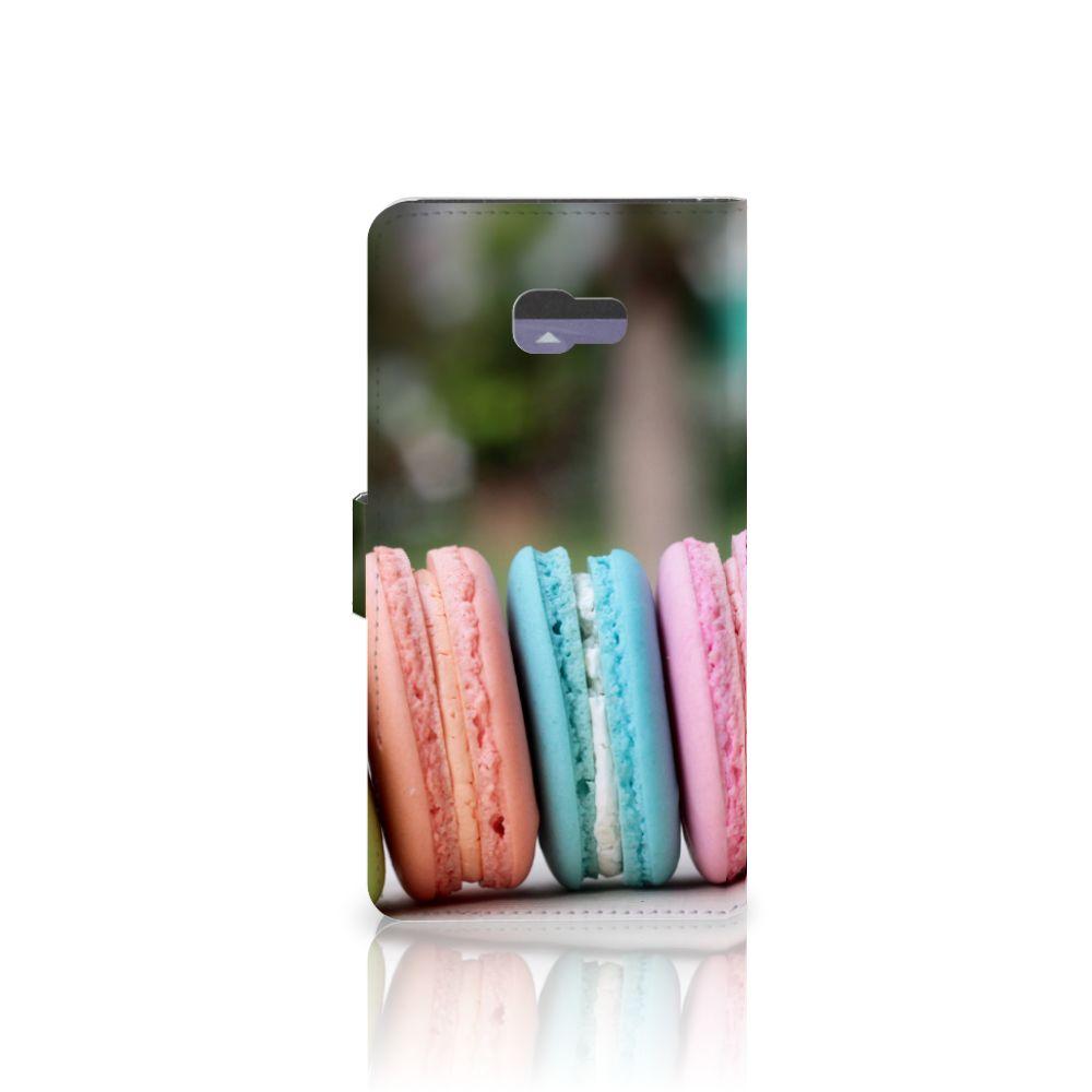 Samsung Galaxy A7 2017 Book Cover Macarons