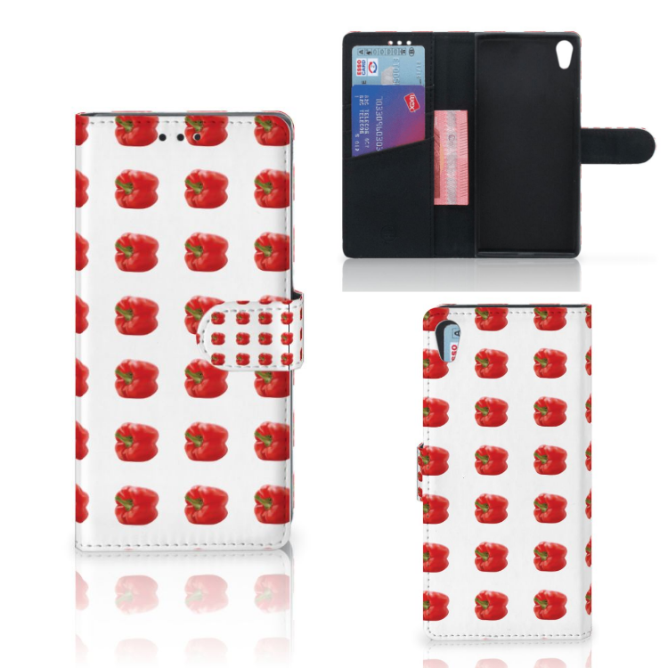 Sony Xperia XA1 Ultra Book Cover Paprika Red