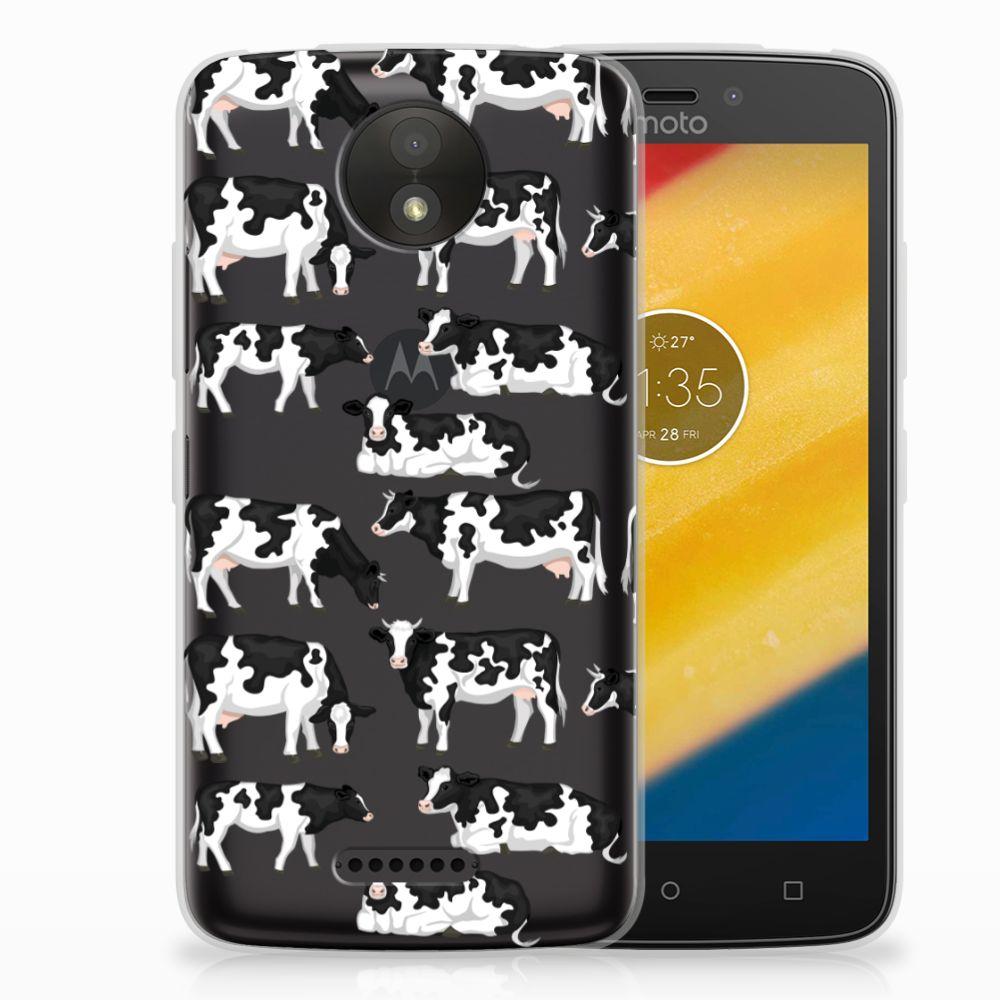 B2Ctelecom Motorola Moto C Plus Uniek TPU Hoesje Koetjes