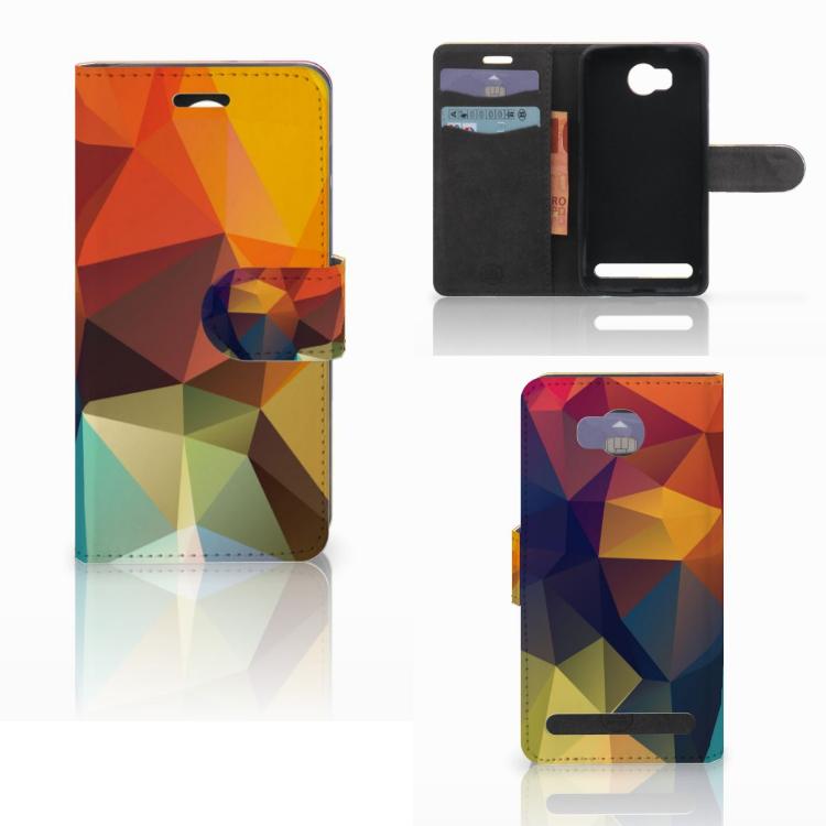 Huawei Y3 2 | Y3 II Bookcase Polygon Color