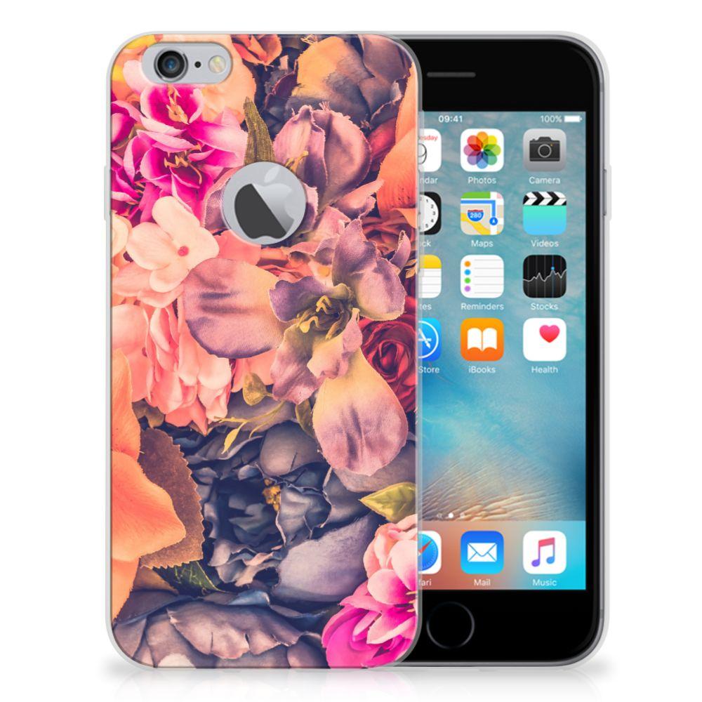 Apple iPhone 6 Plus | 6s Plus TPU Case Bosje Bloemen