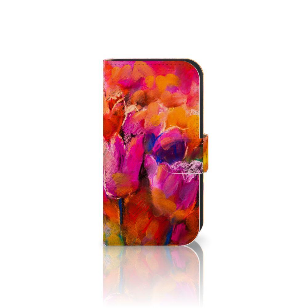 Hoesje Samsung Galaxy Ace 4 4G (G357-FZ) Tulips